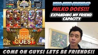 Milko Gaming : Special Event! MAX Friend Capacity Increased, LET