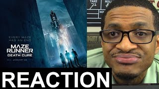 Maze Runner: The Death Cure - Official Final Trailer REACTION & REVIEW