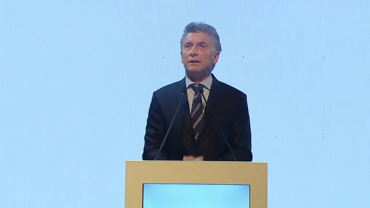 El Presidente Macri Encabeza La Ceremonia De Lanzamiento