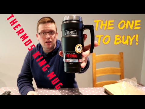 Unboxing Thermos king mug review (travel cup)
