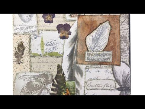 Art Journal Prompts Week 36 - Nature