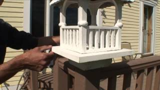 Hot and Cold Minute: Fixing a Wooden Bird Feeder