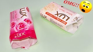 Waste material reuse idea | Best out of waste | DIY arts and crafts | recycling lux soap packets thumbnail