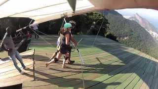 Hang Gliding in Rio de Janeiro is Awesome!