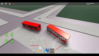 Roblox London Hackney & Limehouse bus Simulator ELC Esteem Dart On Loan SLN Route 323 *Devons Road*