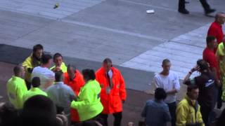 Crowd Trouble at Rihanna. Sunderland Stadium of Light 20/06/2013
