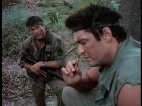 Michael Madsen Tour of Duty Sleeping Dogs Clip 1989