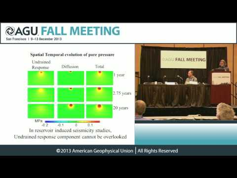 FM13 The Risks of Human Induced Earthquakes PressConference