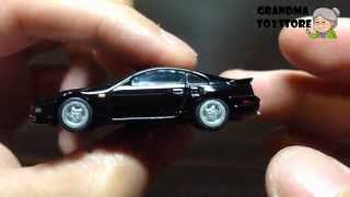 Unboxing Toys Review/demos - Tomica Nissian Fairlady Z 300zx Gt-r Black Classic Fast And Furious