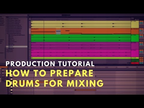 Production Tutorial: How I separate drums for mixing in Ableton Live
