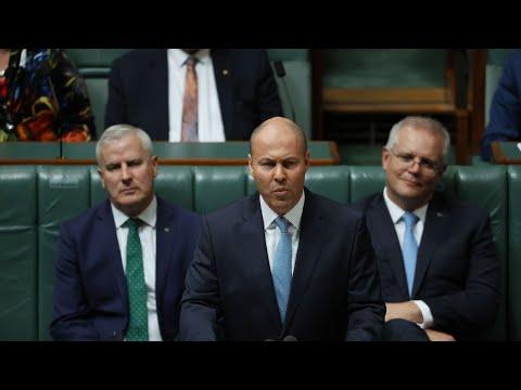 'Australia is coming back': Josh Frydenberg delivers federal budget
