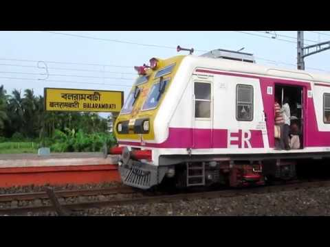 BULLET TRAIN ? Unbelievable take Off and Acceleration by MEDHA Kolkata Local Train