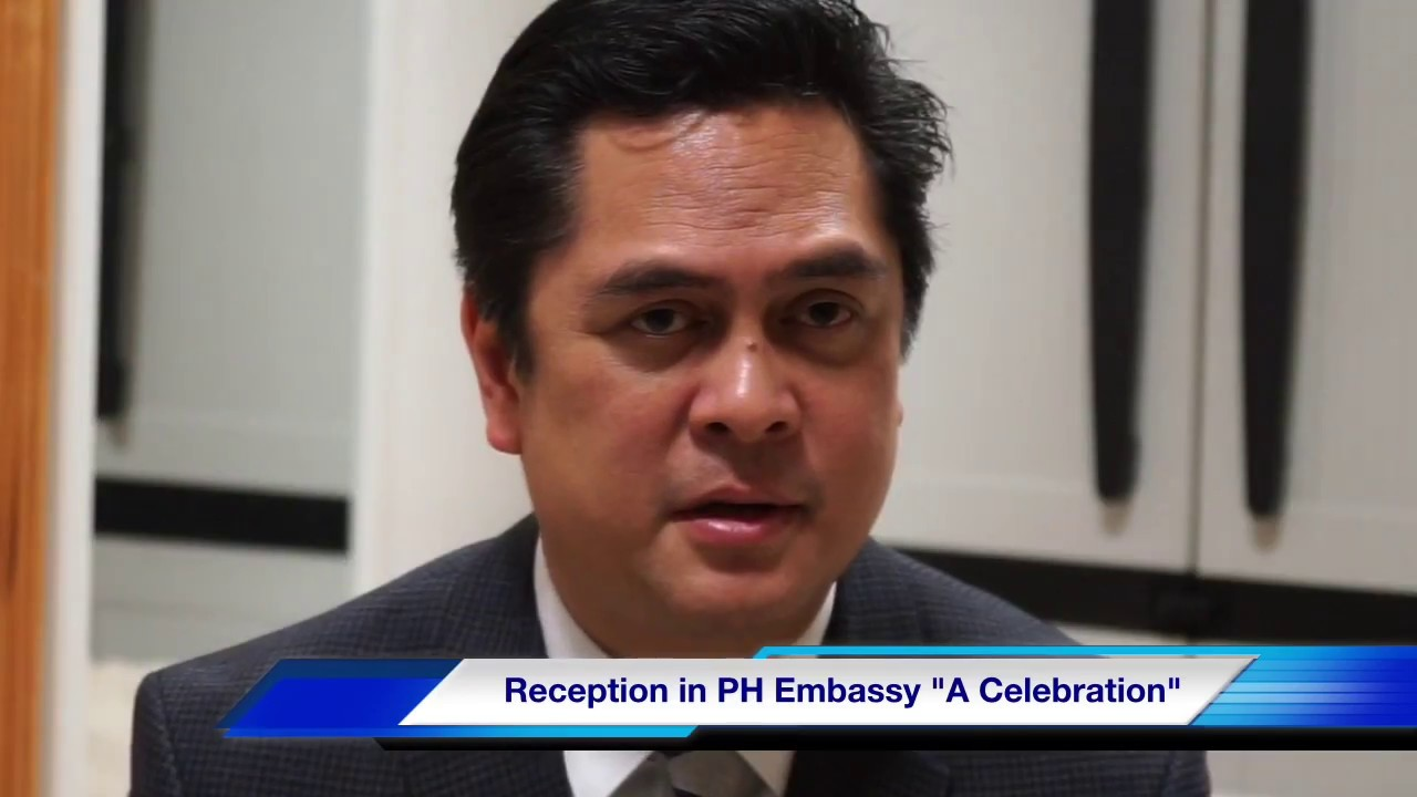 The Philippines 'Press Secretary' Martin Andanar New York Interview