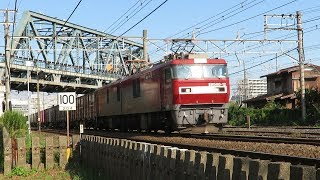 JR貨物・秋頃のEH500形(Japan Freight Railway)