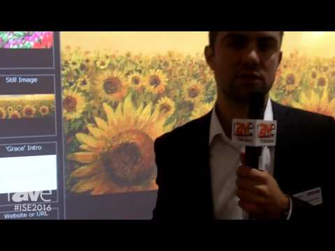 ISE 2016: Sony Electronics Demonstrates Vision Presenter Software
