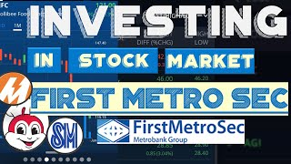 How to Invest iฑ Philippine Stock Market Online with FirstMetroSec Trading Account
