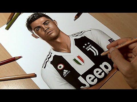 Disegno Ronaldo Juventus Youtube