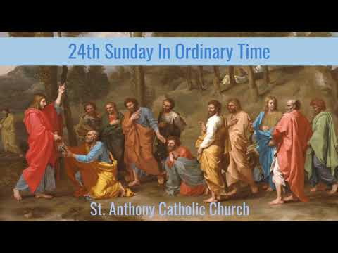 24th Sunday in Ordinary Time_Live Stream_September 13, 2020