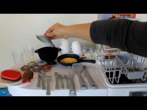 Smoby Kuhnya Tefal Cuisine Studio Xl Youtube