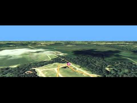 Zumbro LiDAR ArcGlobe Flyover V1 x264