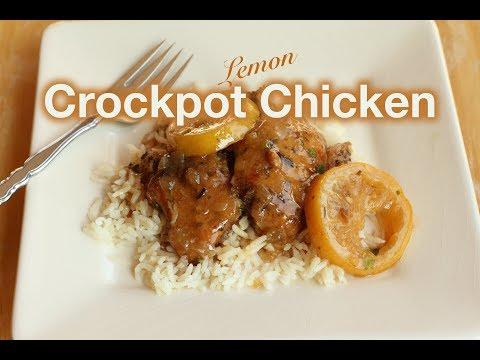 Crockpot Lemon Chicken | Rockin Robin Cooks