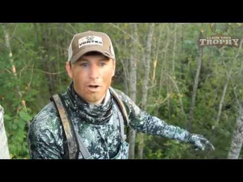 "Minnesota Black Bear Hunt - Claim Your Trophy TV   ""Borderline Adventures"""