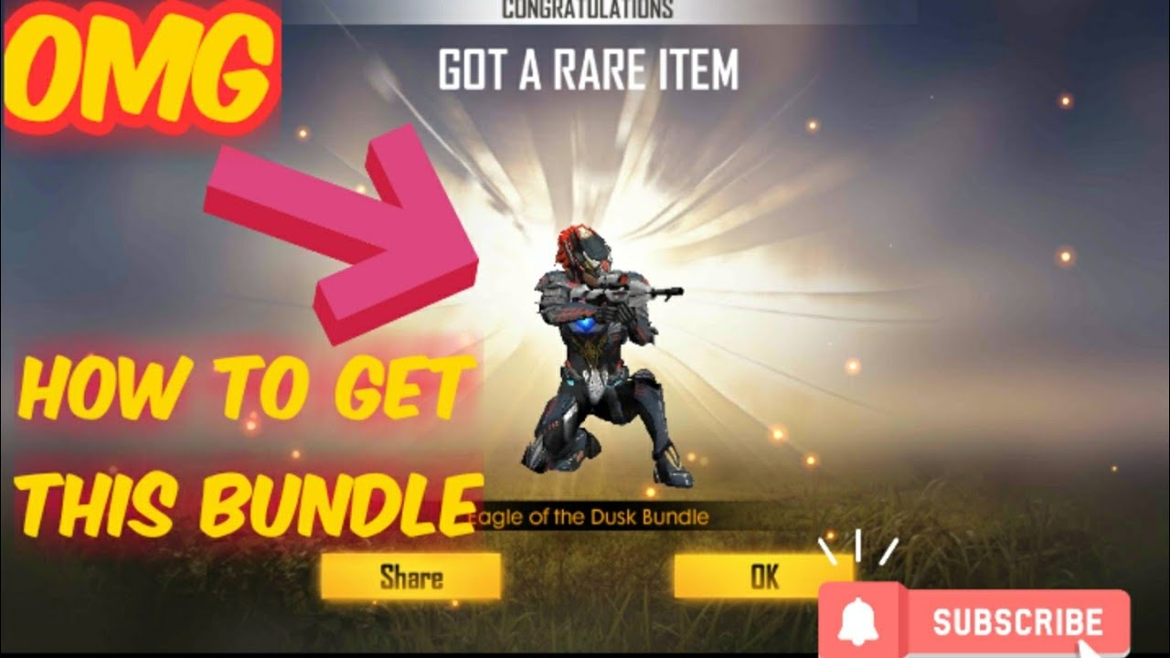 How To Get New Diamond Royel Dark Eagle Bundle In Free Fire Full Details