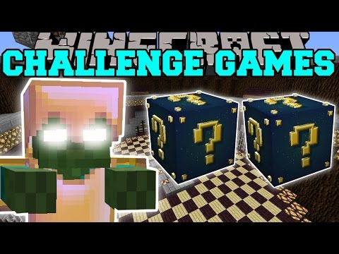 Minecraft: ASTRAL BOB CHALLENGE GAMES - Lucky Block Mod - Mo