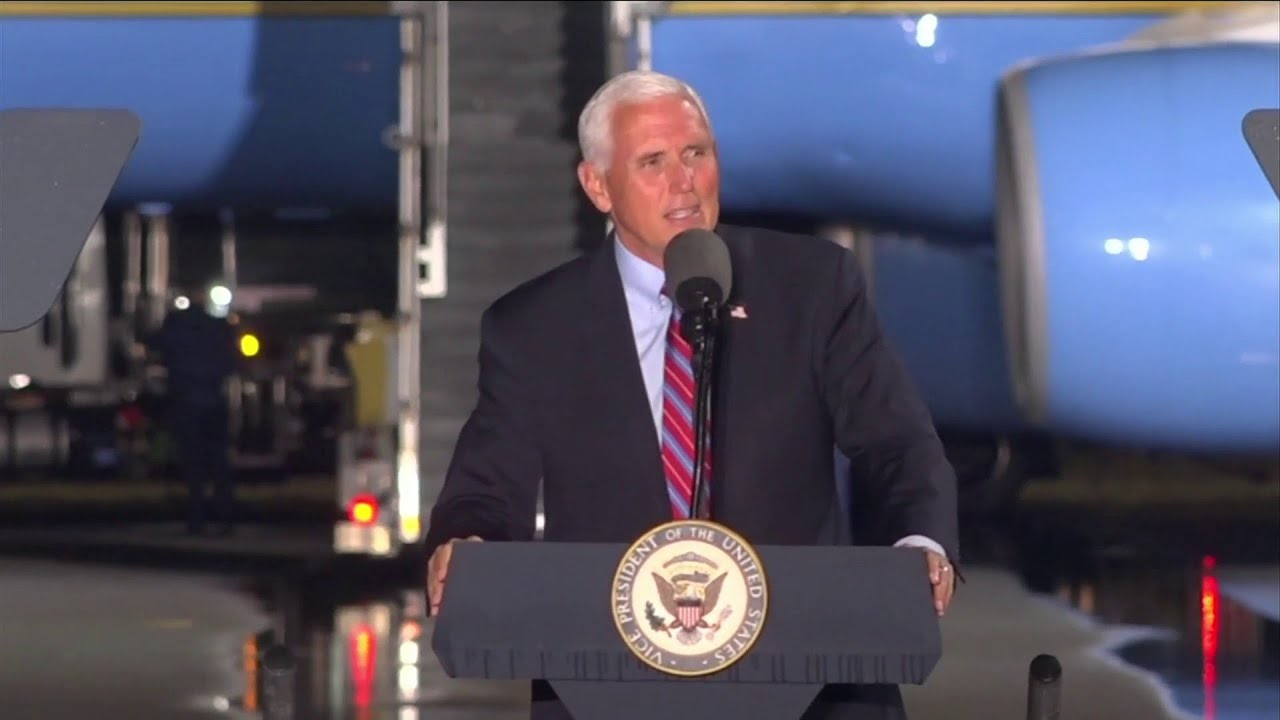 Vice President makes two Florida campaign stops