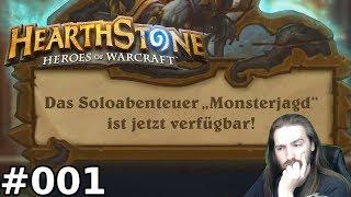 [HS] [Monsterjagd] - [#001] - Hexenwald (Fährtenleserin) - Hearthstone Deutsch