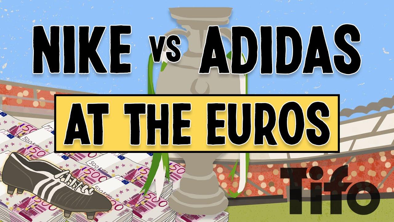 Nike vs Adidas at Euro2020