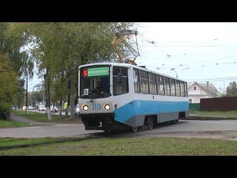 Коломенский трамвай 27.09.2019