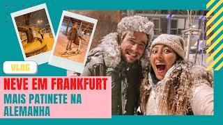 VLOG: Neve em Frankfurt! Surpresa! Mais aventuras de patinete!