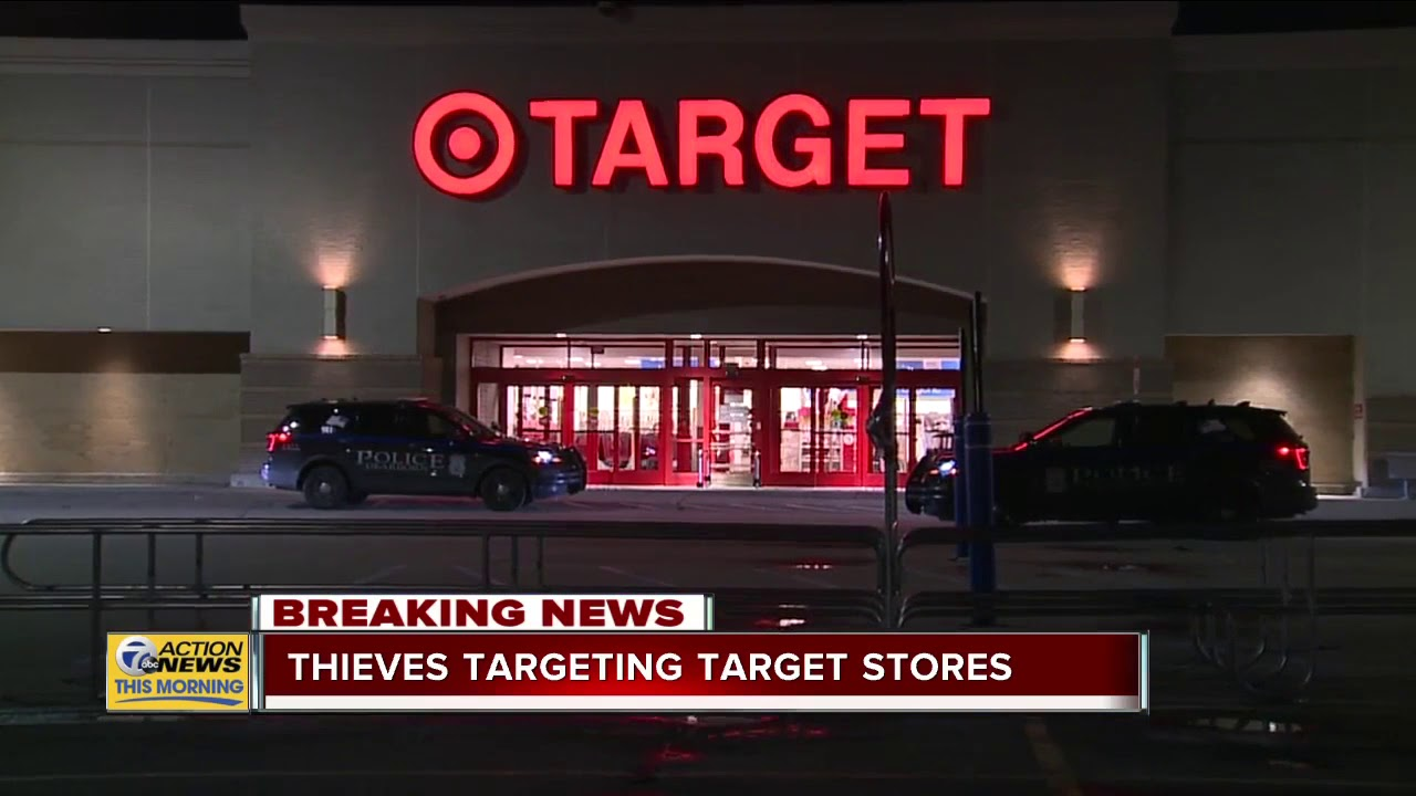 Thieves targeting Target stores in metro Detroit