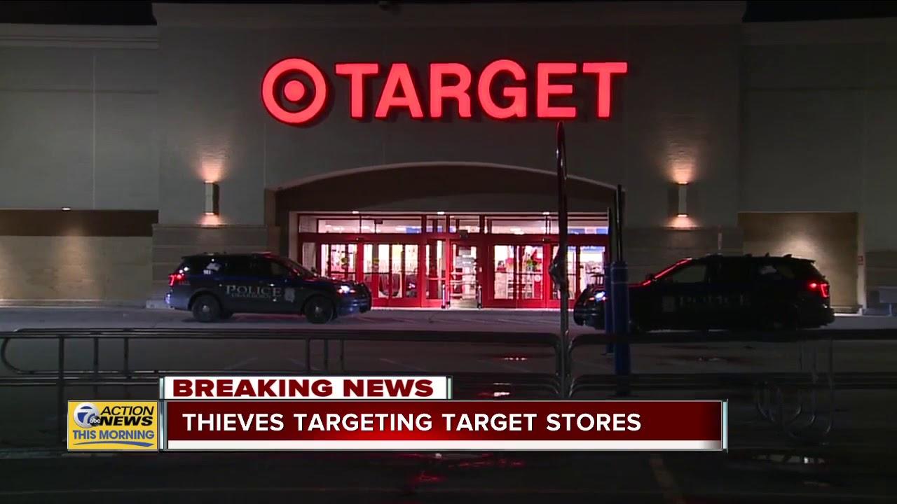 Thieves targeting Target stores in metro Detroit