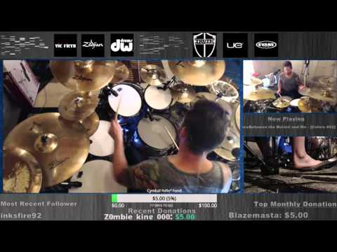 Between the Buried & Me - Colors DRUMS FULL live on twitch.tv/danwind86 on 10-15-15