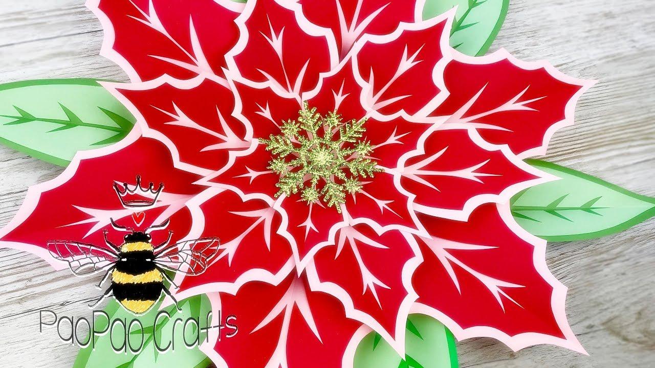 Moldes Gratis Flor De Pascua Noche Buena Flor Navidad Poinsettia Flower