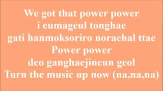EXO - POWER (Lirik lagu/Romanization)