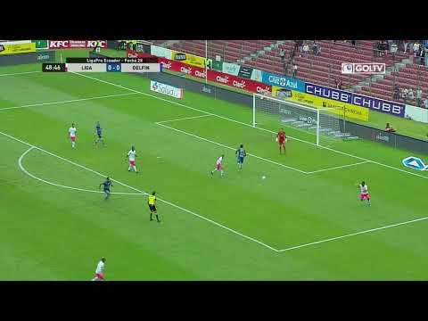 Liga de Quito 1:1 VS Delfín