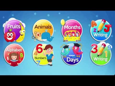 Learn ABC Letters Kids Games | Animations & Alphabets Puzzle Games For Babys or Childrens