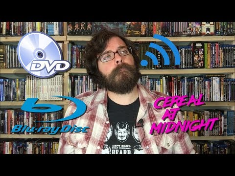 Collecting Physical Media in a Digital World (DVD Disc VS Streaming)