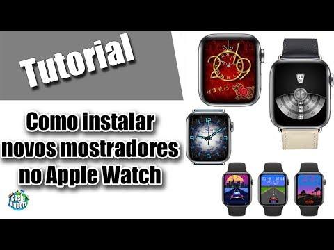como-ter-novos-mostradores-do-apple-watch