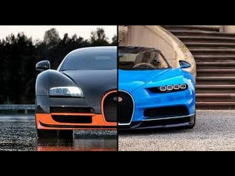 2017 bugatti chiron vs 2008 bugatti veyron youtube. Black Bedroom Furniture Sets. Home Design Ideas