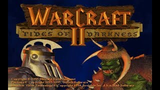 """WarCraft II: Tides of Darkness """"Act-I"""" (PC/DOS) 1995, Blizzard Entertainment"""