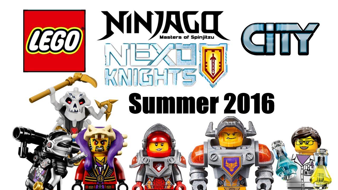 Lego Summer 2016 Ninjago Revenge Of Villains City Park And