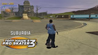 Video Tony Hawk's Pro Skater 3 (PS2) - Suburbia - 100% GOALS, STATS AND DECKS download MP3, 3GP, MP4, WEBM, AVI, FLV April 2018