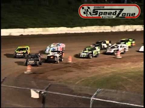 Oshkosh Speedzone Raceway - August 16, 2013 - Sport Modified Feature