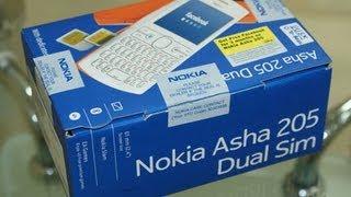 nokia Asha 205 Unboxing