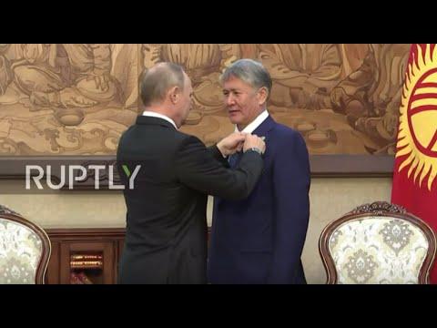 Kyrgyzstan: Putin congratulates