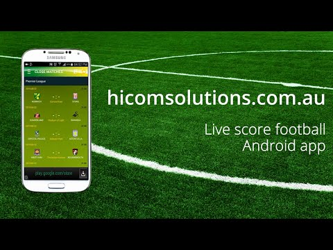 Live score football Android app source code for sale